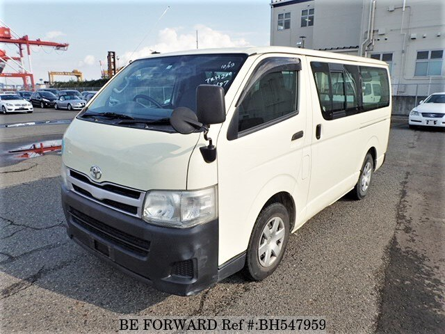 Used 2011 TOYOTA HIACE VAN BH547959 for Sale