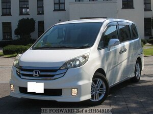 Used 2008 HONDA STEP WGN BH549154 for Sale