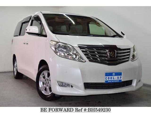 Used 2011 TOYOTA ALPHARD BH549230 for Sale