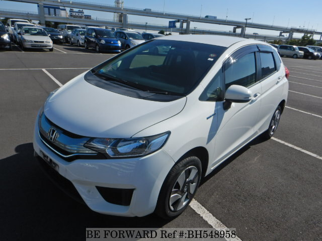 Used 2015 HONDA FIT HYBRID BH548958 for Sale