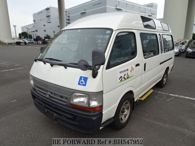 Used 1999 TOYOTA HIACE COMMUTER BH547952 for Sale