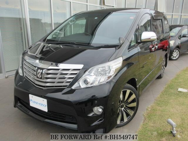 Used 2010 TOYOTA ALPHARD BH549747 for Sale