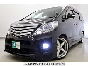 Used 2010 TOYOTA ALPHARD BH549778 for Sale