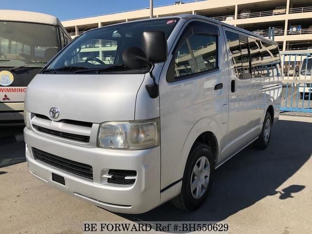 Used 2006 TOYOTA HIACE VAN BH550629 for Sale