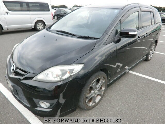 Used 2010 MAZDA PREMACY BH550132 for Sale