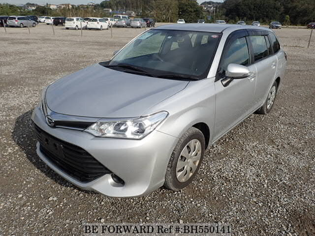 Used 2015 TOYOTA COROLLA FIELDER BH550141 for Sale