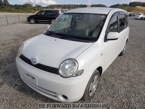 Used 2005 TOYOTA SIENTA BH550149 for Sale