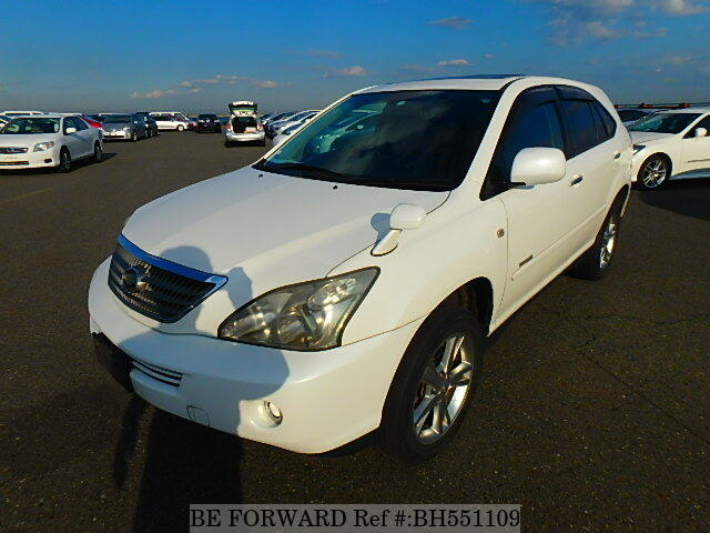 Used 2008 TOYOTA HARRIER HYBRID BH551109 for Sale