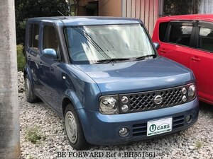Used 2005 NISSAN CUBE BH551561 for Sale
