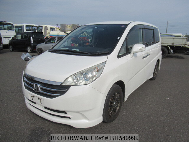 Used 2009 HONDA STEP WGN BH549999 for Sale
