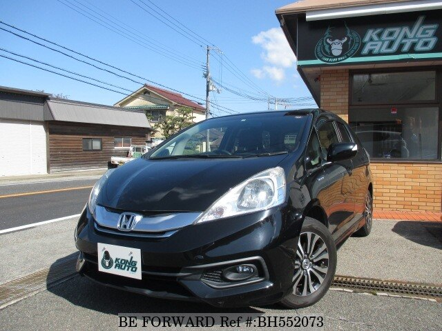 Used 2013 HONDA FIT SHUTTLE HYBRID BH552073 for Sale