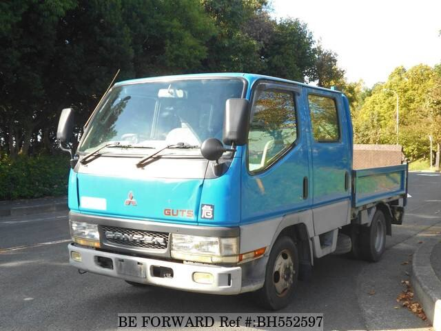 Used 2002 MITSUBISHI CANTER GUTS BH552597 for Sale