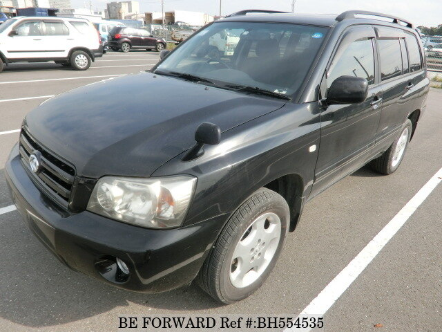 Used 2005 TOYOTA KLUGER BH554535 for Sale
