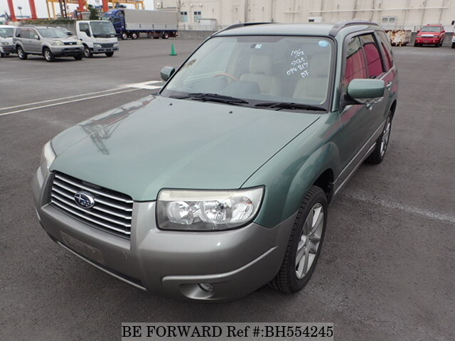 Used 2005 SUBARU FORESTER BH554245 for Sale