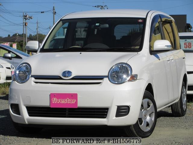 Used 2011 TOYOTA SIENTA BH556779 for Sale