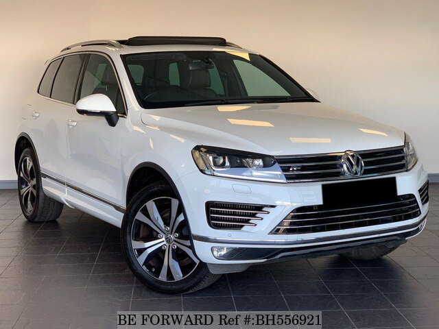 Used 2015 VOLKSWAGEN TOUAREG BH556921 for Sale