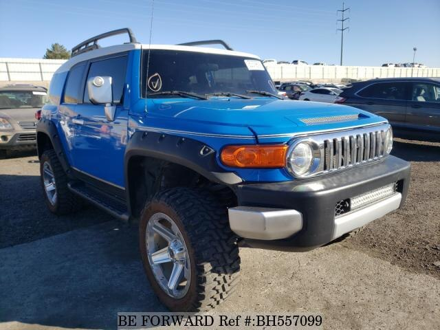 Used 2007 TOYOTA FJ CRUISER BH557099 for Sale