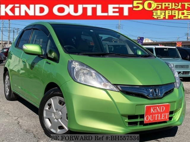 Used 2012 HONDA FIT HYBRID BH557534 for Sale