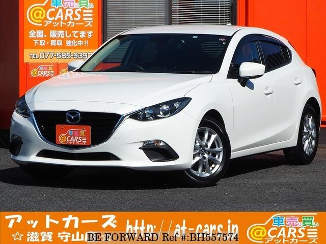 Used 2015 MAZDA AXELA SPORT BH557574 for Sale