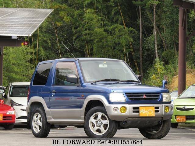 Used 1999 MITSUBISHI PAJERO MINI BH557684 for Sale