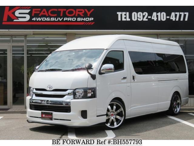 Used 2016 TOYOTA HIACE COMMUTER BH557793 for Sale
