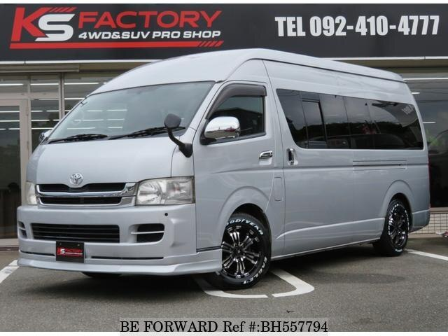 Used 2009 TOYOTA HIACE VAN BH557794 for Sale