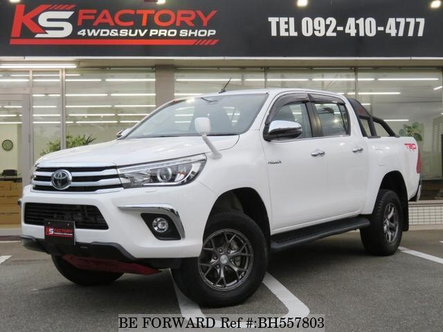 Used 2017 TOYOTA HILUX BH557803 for Sale