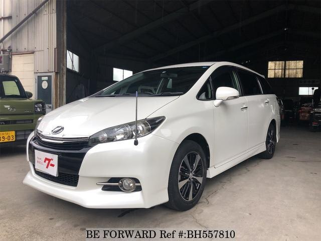 Used 2013 TOYOTA WISH BH557810 for Sale