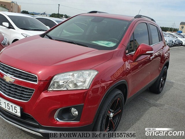 Used 2013 CHEVROLET TRAX BH557856 for Sale