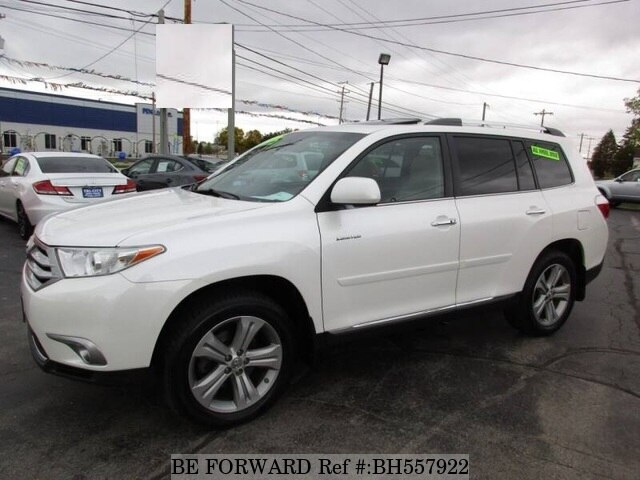 Used 2013 TOYOTA HIGHLANDER BH557922 for Sale
