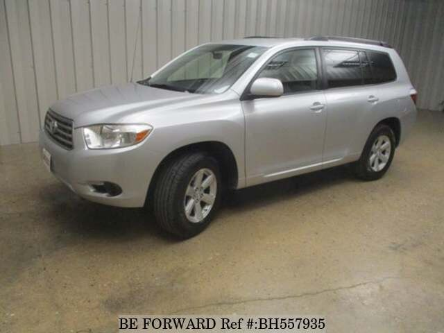 Used 2008 TOYOTA HIGHLANDER BH557935 for Sale