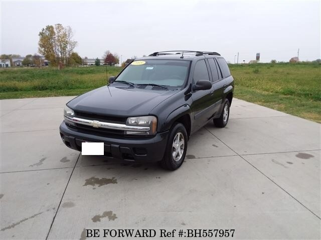 Used 2005 CHEVROLET TRAILBLAZER BH557957 for Sale