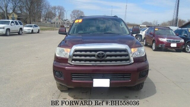 Used 2009 TOYOTA SEQUOIA BH558036 for Sale