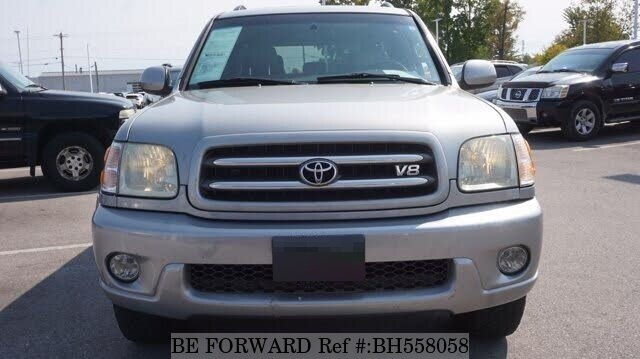 Used 2004 TOYOTA SEQUOIA BH558058 for Sale