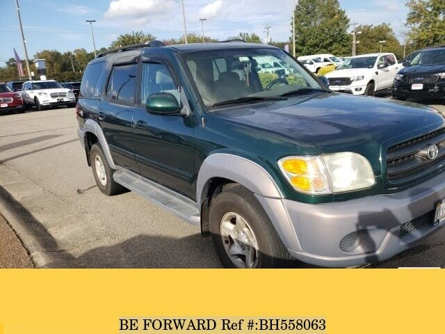 Used 2002 TOYOTA SEQUOIA BH558063 for Sale