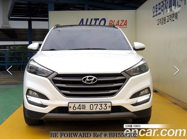Used 2016 HYUNDAI TUCSON BH558102 for Sale