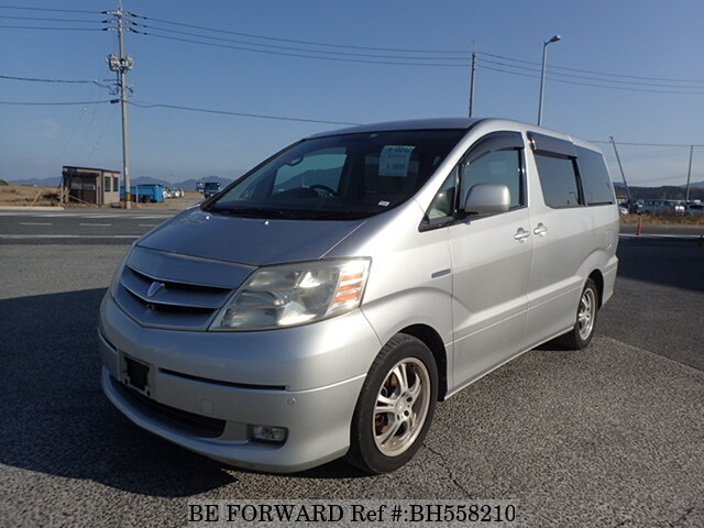 Used 2003 TOYOTA ALPHARD HYBRID BH558210 for Sale