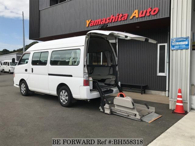 Used 2012 NISSAN CARAVAN VAN BH558318 for Sale