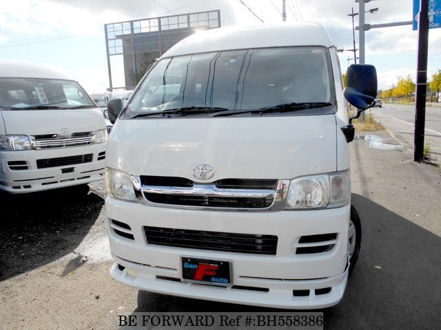 Used 2008 TOYOTA HIACE VAN BH558386 for Sale