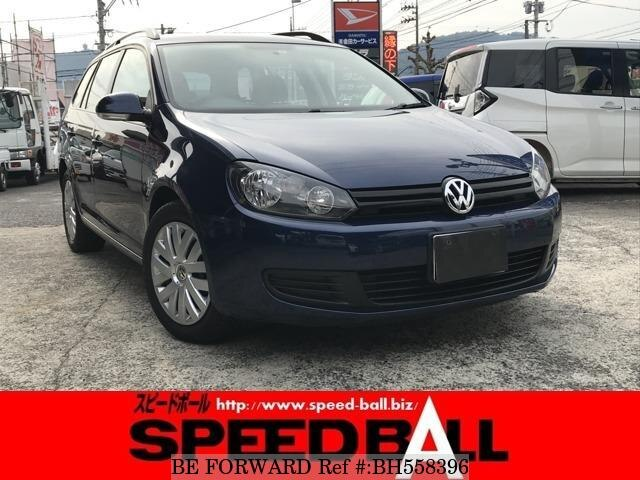 Used 2011 VOLKSWAGEN GOLF VARIANT BH558396 for Sale