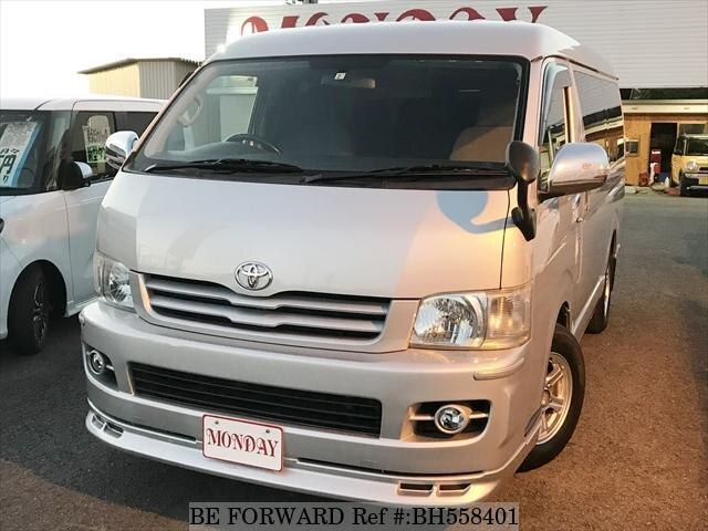 Used 2007 TOYOTA HIACE WAGON BH558401 for Sale