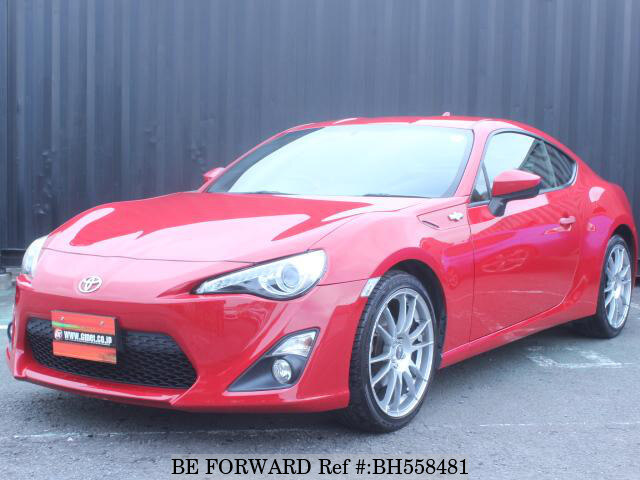 Used 2012 TOYOTA 86 BH558481 for Sale