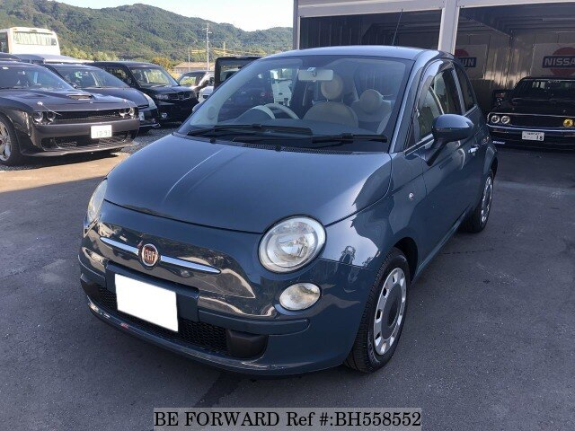 Used 2008 FIAT 500 BH558552 for Sale