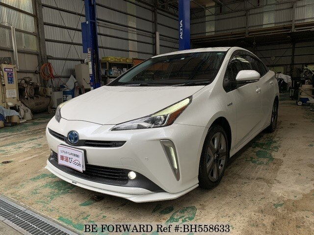 Used 2020 TOYOTA PRIUS BH558633 for Sale