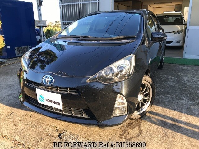 Used 2013 TOYOTA AQUA BH558699 for Sale
