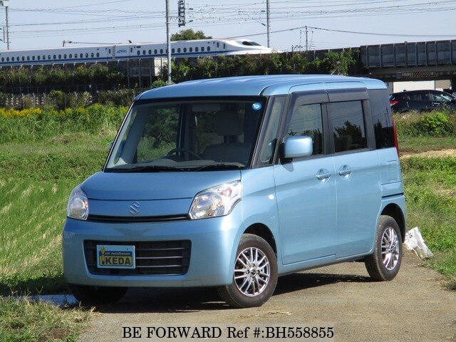 Used 2013 SUZUKI SPACIA BH558855 for Sale