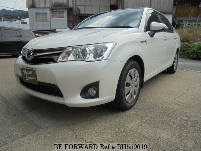 Used 2013 TOYOTA COROLLA AXIO BH559019 for Sale
