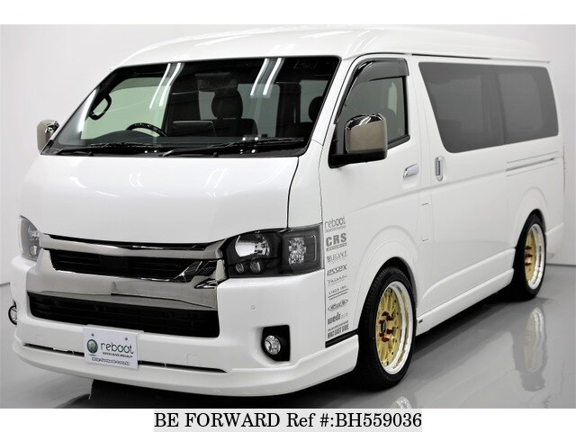 Used 2020 TOYOTA HIACE VAN BH559036 for Sale