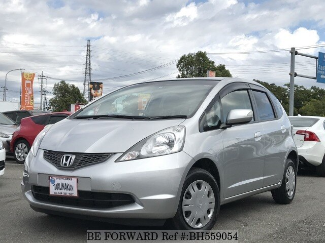 Used 2009 HONDA FIT BH559054 for Sale