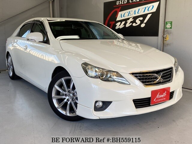 Used 2010 TOYOTA MARK X BH559115 for Sale